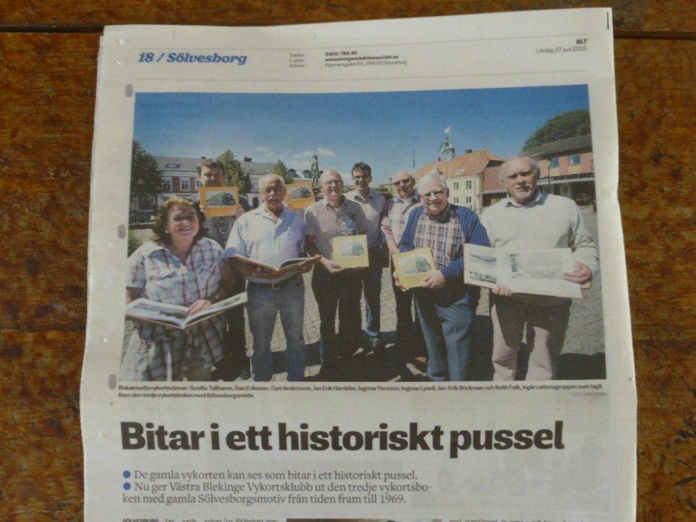 Blekinge Läns Tidning 27 juni 2015