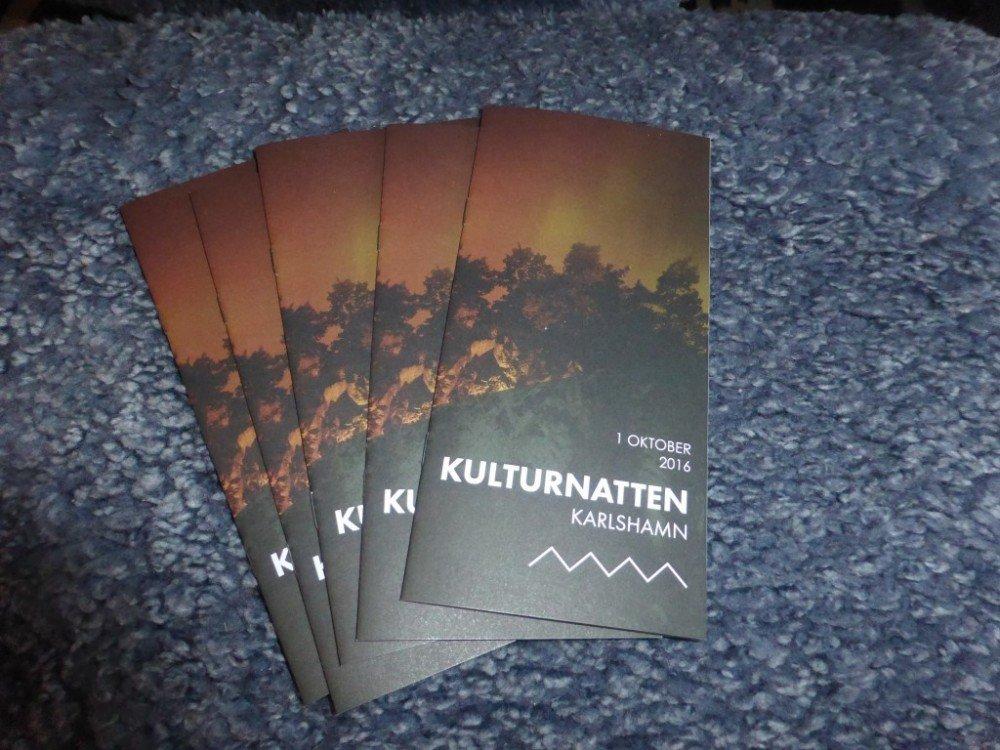 Program Kulturnatten Karlshamn 2016