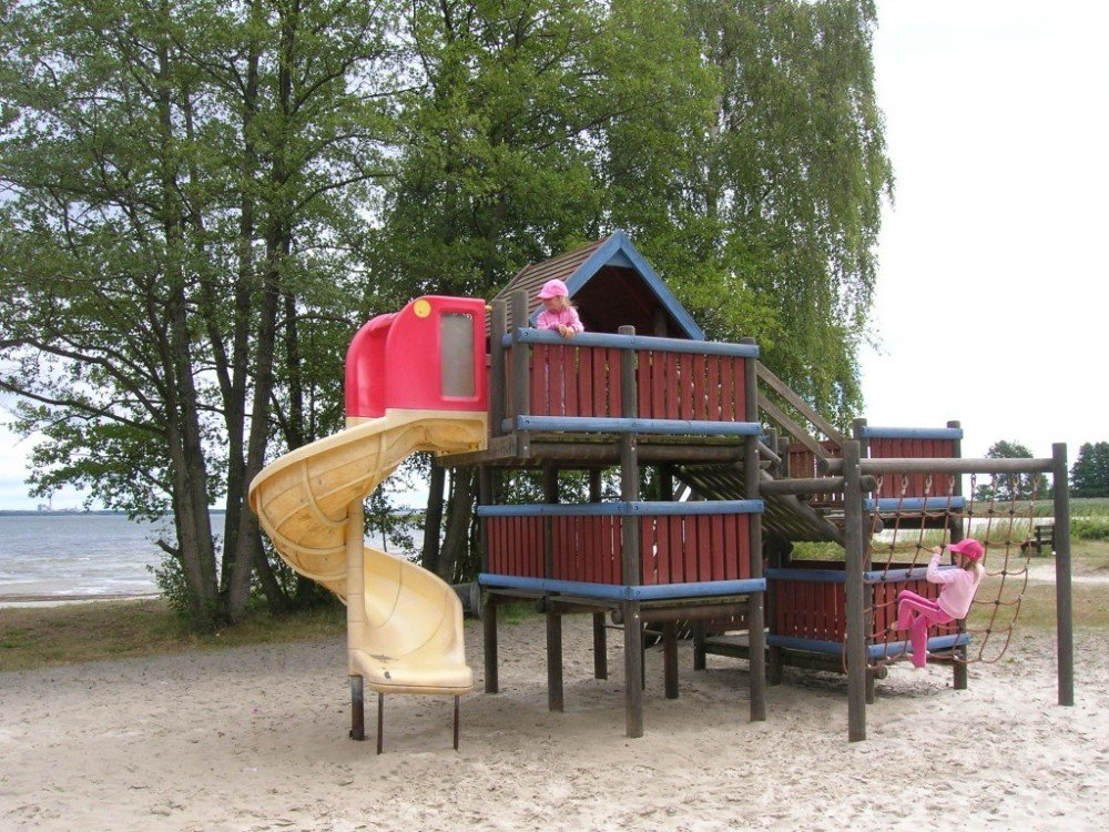 Lekplatsen Norje Havsbad