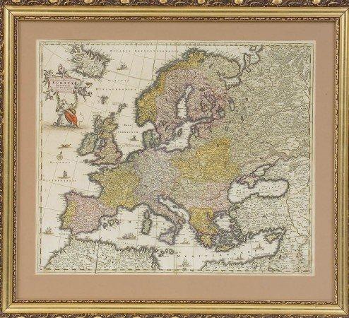 Äldsta kartan över min hembygd Salmi år 1650