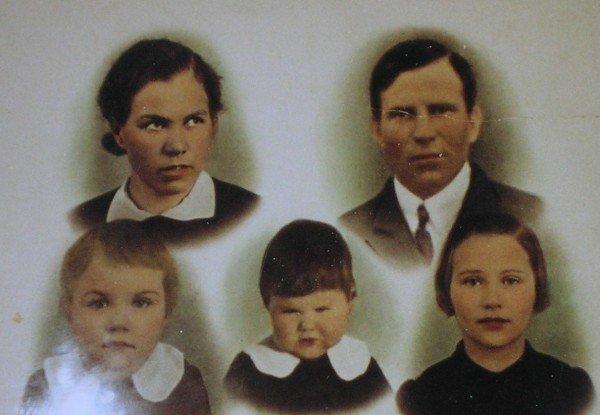 Familjen Titoff Salmi Finland