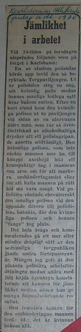 Karlshamns Allehanda okt 1970