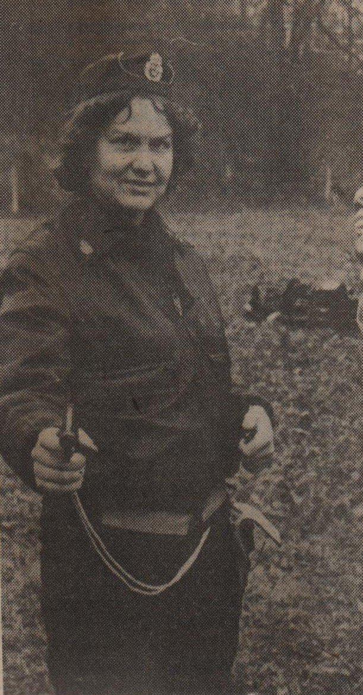 Marjatta Titoff polisens skjutövning