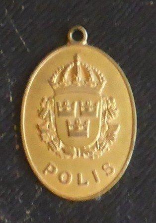 Marjatta Titoffs polisleg år 1970 Karlshamns Polisen