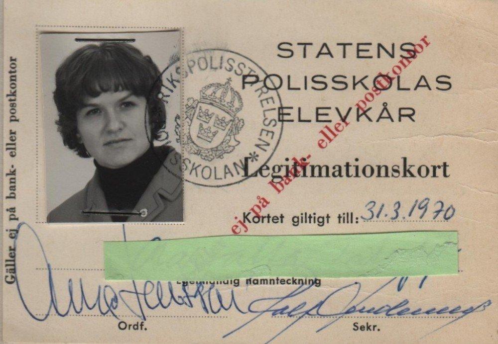 STATENS POLISSKOLAS ELEVKÅR