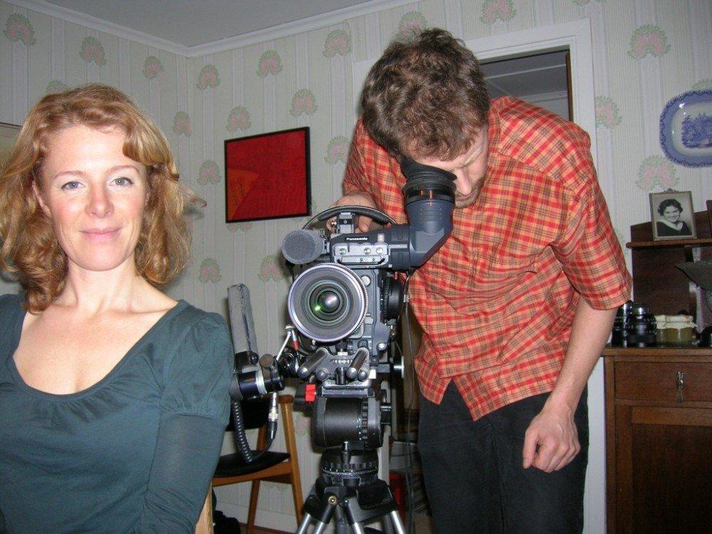 Filmarna Åsa Blanck och Johan Palmgren