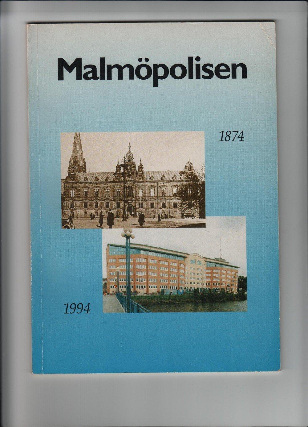Bok 51 sidor om polisen i Malmö 1874-1994